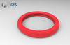 PGP - K35-P , Customized PU Piston Seal Double Acting For Food and Pharma Industry