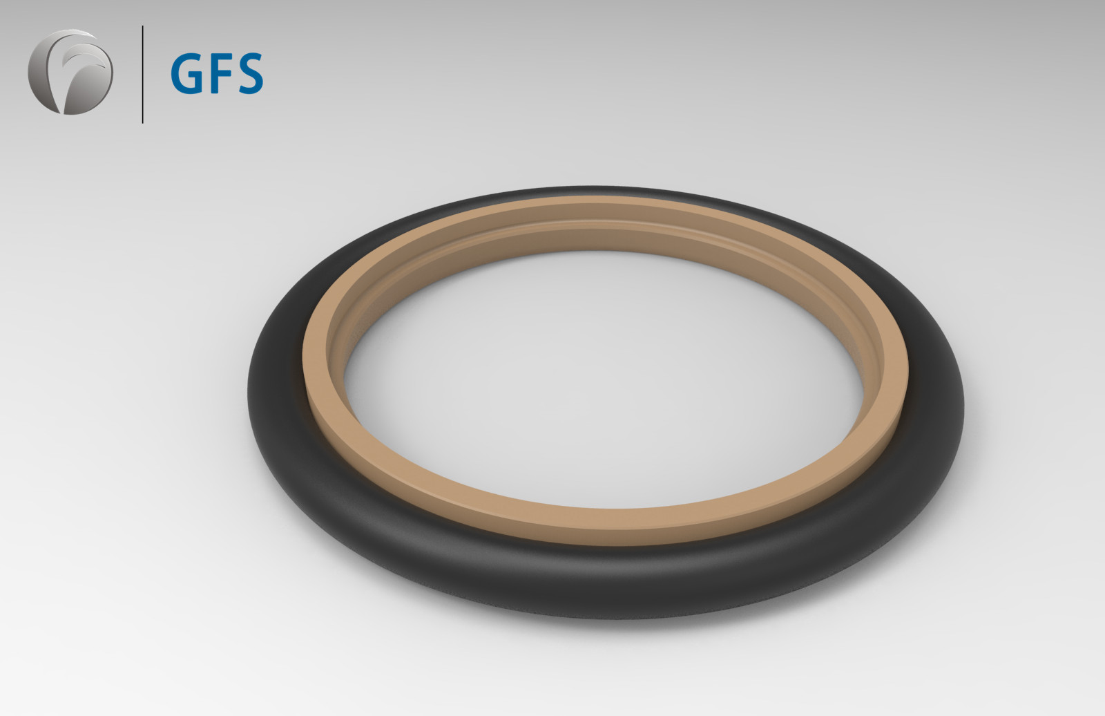 RSD - Customized Rob Seal Step Seal PTFE ( double lip chamfer )